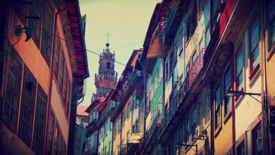 Casco antiguo de Oporto